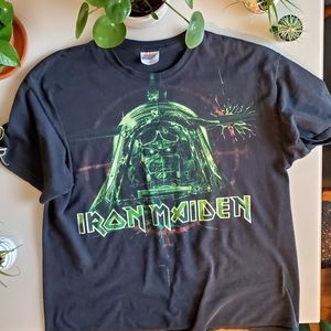 Excellent condition vintage Iron Maiden band tee